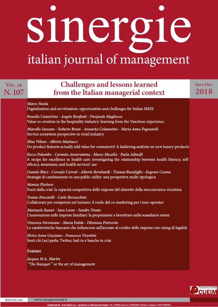 Challenges and lessons learned from the Italian managerial context