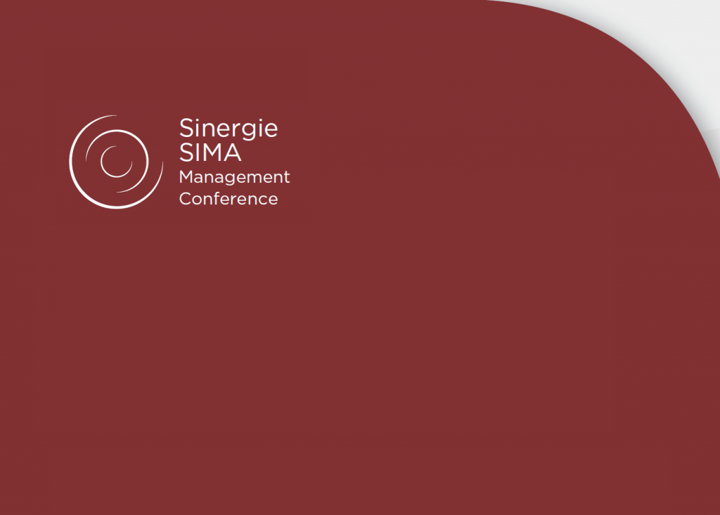 Sinergie-SIMA 2020 Conference - Registration form